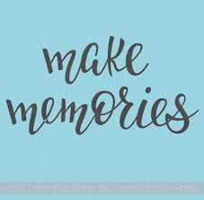 make memories family wall quote decals cursive wall words vinyl