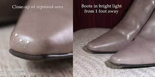 repair a se on faux leather shoes