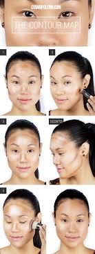 makeup tutorial on contouring