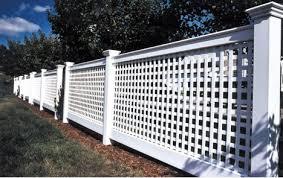 Lattice Fencing For Around Ac Unit Lattice Fence Panels Lattice Fence Fence Design