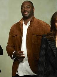 Adewale Akinnuoye Agbaje The Fix Sevvy Johnson Suede Jacket - HJacket