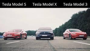 Tesla Model X Vs Model S Vs Model 3 Vs ...
