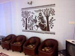 The Wall Decal Blog Ashoka Vatika Wall Decal A Stylish Ethnic Indian Design