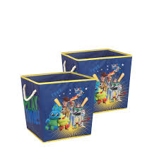 Disney Toy Story 4 Rope Handle Storage Cube 2 Pack Walmart Com Walmart Com