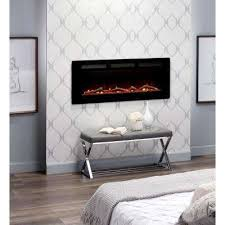 electric fireplace modern the home