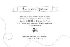 carte d invitation de mariage tempo