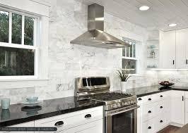 black and white marble kitchen ideas