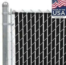 8 Ft High Black Wave Slat Single Wall Privacy Chain Link Fence Slats Ebay