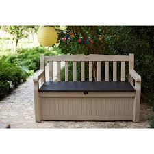 keter eden plastic storage bench