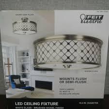 flush semiflush mount led ceiling