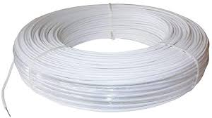 Polyplus 1320 Ft 12 5 Gauge White Safety Coated High Tensile Horse Fence Wire Amazon Ca Patio Lawn Garden