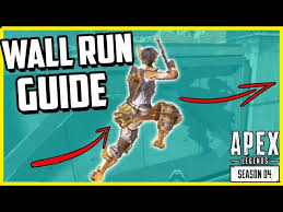 apex legends wall how to wall run