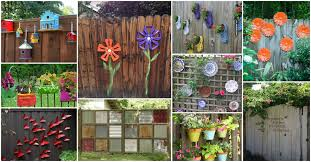 12 Beautiful Diy Fence Decoration Ideas Diy Cozy Home