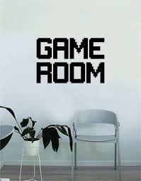 Game Room Wall Decal Quote Home Room Decor Decoration Art Vinyl Sticke Boop Decals
