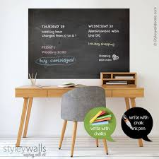 Chalk Board Wall Decal Chalkboard Wall Decal Chalkboard Wall Etsy
