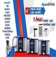 Alkaviva - Máy lọc nước điện giải Ion kiềm giàu Hydrogen của Mỹ - 349  Photos - Product/Service - 218A Thành Thái, Phường 15, Quận 10, Ho Chi Minh  City, Vietnam 70000