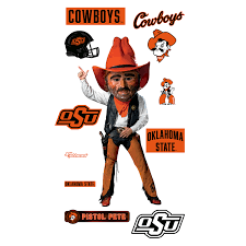 Osu Cowboys Pistol Pete Mascot College Flag