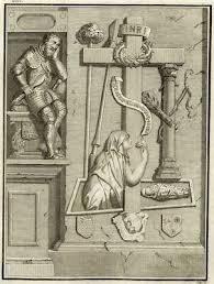 Tombeau Charles Maigné Maison de Rochefort - Millin Gravure originale  XVIIIe | eBay