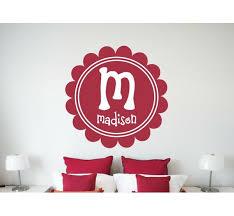 Alphabet Garden Designs Personalized Maria S Wall Decal Wayfair