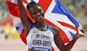 Dina Asher Smith praises parents' dedication after winning 200m gold |  Celebrity News | Showbiz & TV | Express.co.uk