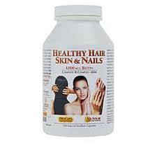 biotin hair skin nails vitamins hsn