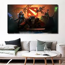 Dota 2 Heros Hd Wallpapers Wall Art Canvas Poster Print Painting Decorative Picture Living Room Home With Free Shipping Worldwide Weposters Com