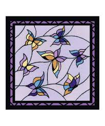 riolis erfly stained glass window