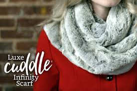 luxe cuddle infinity scarf learn how