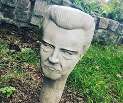 SEE IT: Statues of Christopher Walken's head emerge in a Long ...