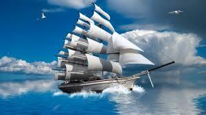 ments on schooner at sea sailboats