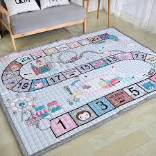 2020 New Baby Home Carpet 150 200cm Big Size Playmat Antiskip Kids Room Carpet Living Room Mat Cartoon Floor Rug Boys City Road Kids Room Carpet Floor Rugscartoon Mat Aliexpress