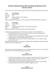 Contoh Surat Perjanjian Pinjam Pakai Yang Sah Dan Benar Detiklife