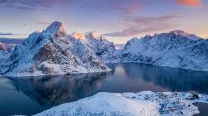 norway mounns winter snow