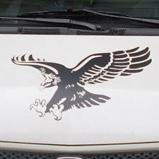 Car Eagles Flying Animal 22 5 X 18 5 Hood Decal For Civic Vinyl Animal Stickers Cg20 Hood Decal Eagle Hood Decalcar Hood Decals Aliexpress