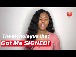 The Monologue that changed my LIFE!! I GOT SIGNED 🥳 | Actress life |  Living in LA - YouTube