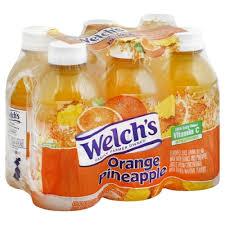 welchs juice drink orange pineapple 6