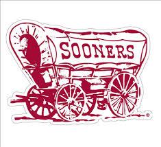 Oklahoma Sooner 12 Schooner Vinyl Decal