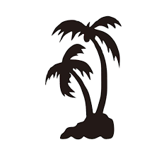 2020 Palm Tree Set Car Decal Sticker Window Matte Black Bag Summer Paradise Hawaii Personality Accessories From Xymy777 0 64 Dhgate Com