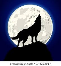 Image result for wolf howling at the moon