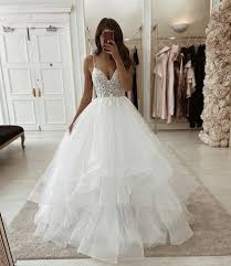 Pin by Adeline Holmes on wedding in 2020 | Dream wedding dresses, Ball  gowns wedding, Wedding dresses romantic