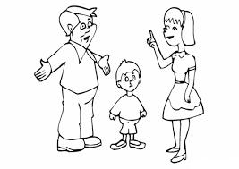 Tuyển tập bộ tranh tô màu gia đình hạnh phúc - Zicxa hình ảnh