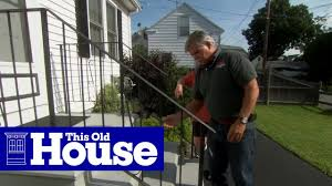 How To Repair A Rusted Wrought Iron Railing This Old House Youtube