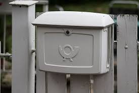 Letter Boxes Mailbox Metal Post Horn Garden Fence Letter Delivery Grey Send Message Mailing Pxfuel
