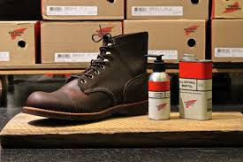 take care of all kinds of red wing shoes