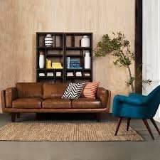 lovable light brown leather sofa 17