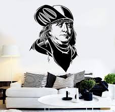 Vinyl Wall Decal Benjamin Franklin Modern Art Money Dollars Stickers U Wallstickers4you