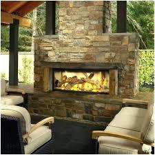 outdoor fireplace gas insert kits