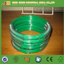china small coil pvc coated wire garden