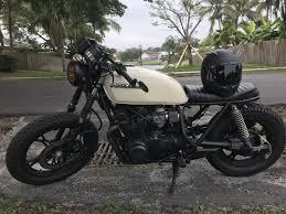 1983 suzuki gs650 cafe racer brat