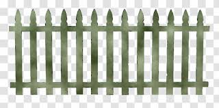 Fence Pickets Synthetic Panels Garden Gate Transparent Png